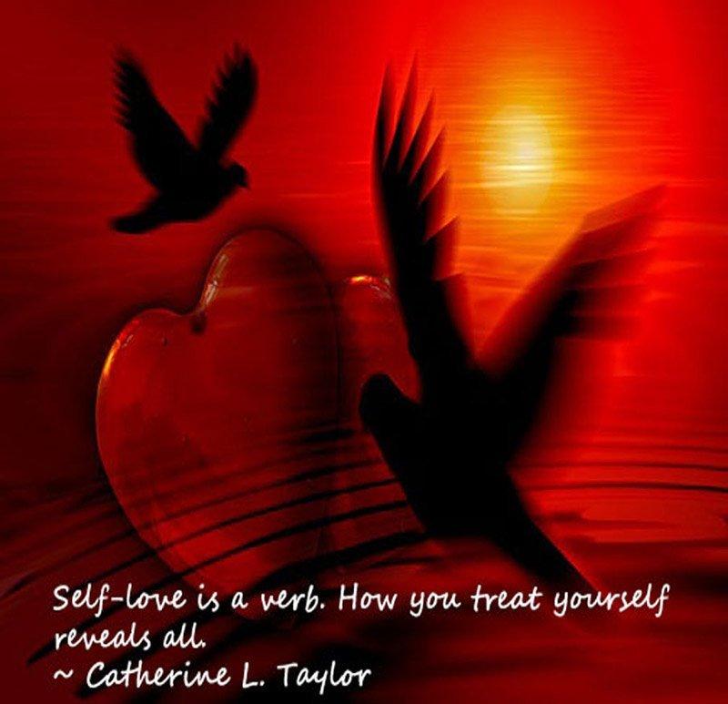 Self-love is a verb